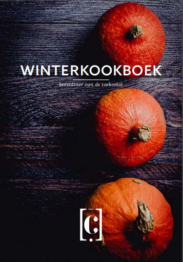 Cover van het winterkookboek Circl gemaakt door Circl chefkok Rudolf Brand